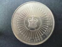 1993 £5 COIN VERY GOOD CONDITION. 1993 FIVE POUNDS COIN (CROWN) COIN SHOWN SENT.
