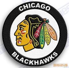 CHICAGO BLACKHAWKS   iron on embroidered embroidery PATCH nhl ice hockey