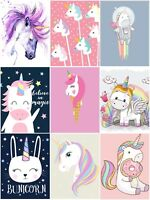 BEAUTIFUL UNICORN 🦄 CANVAS PICTURES CHILDREN'S BEDROOM FANTASY HORSE WALL ART