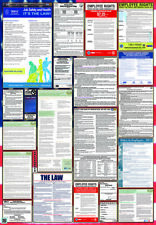 2018 California Federal Combination Labor Law Posters Laminated!