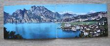 Italia Italien doppio AK CP Torbole Lago di Garda 1910-25 Strada del Ponale Casa