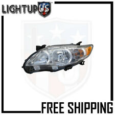 Fits 11-12 Toyota Corolla Headlight/Lamp Driver Side (Left Only)