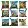 1pc Multicolor Case Easter Sofa Bed Home Decoration Pillow Case Cushion Cover