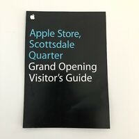 Apple Store Scottsdale Quarter Grand Opening Visitor's Guide Limited Edition AZ
