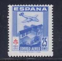 ESPAÑA (1948) NUEVO SIN FIJASELLOS MNH - EDIFIL 1043 (25 cts)TUBERCULOSOS LOTE 3