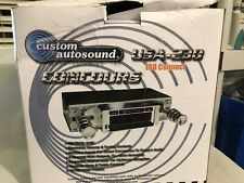 For Ford Mustang 1967-1973 Custom Autosound USA-230 Receiver w Auxiliary Input