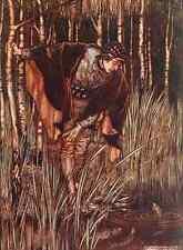 A4 Foto los cuentos de hadas de los hermanos Grimm 1909 7 impreso Poster