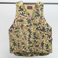 Vintage Ranger Camouflage Hunting Vest, small, MADE IN AUGUSTA GEORGIA
