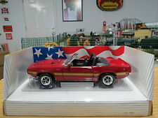 Ertl American Muscle 1969 Shelby GT-500 Convertible, Candyapple Red,  Mint Cond.