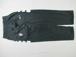 Standard Cardinal Nike Sweatpants Men's Black Therma-Fit NEW M