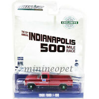 GREENLIGHT 29978 1968 FORD F-100 52nd ANNUAL INDIANAPOLIS 500 TRUCK 1/64 Chase