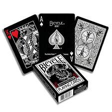 2x Bicycle Black Tiger Playing Cards Standard Poker Magic USPCC Decks US