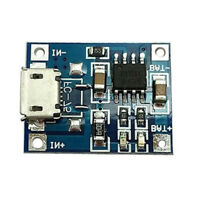 5PCS TP4056 5V 1A Micro USB 18650 Lithium Battery Charger Board Module
