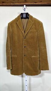 Polo Ralph Lauren Vintage Brown Corduroy Professor Blazer Small