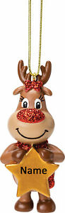 Reindeer Girl Personalised Decoration by Suki Gifts