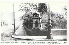 Stafford Postcard - Old Stoke-on-Trent - Public Drinking Fountain, Glebe St 2232