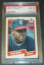 1990 FRANK THOMAS ROOKIE FLEER UPDATE #U-87  PSA GEM MINT 10 SHARP