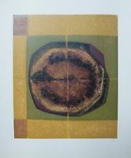 Piaubert Jean Lithographie signée art abstrait abstraction lyrique