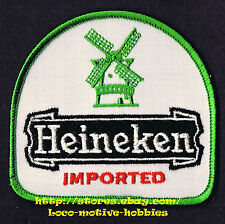 LMH PATCH Badge  HEINEKEN LAGER BEER  Dutch Netherlands  IMPORTED Pilsener Logo