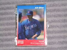 NOLAN RYAN- STAR (All Star) 9 card set- #364/500- 1991