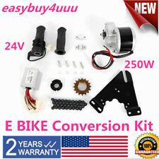 "24V 250W ELECTRIC BICYCLE MOTOR KIT 16-28"" E-BIKE CONVERSION KIT SIMPLE DIY BIKE"