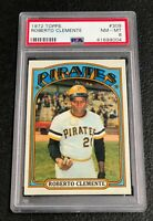 Pittsburgh Pirates Roberto Clemente 1972 Topps #309 PSA 8 Near Mint-Mint