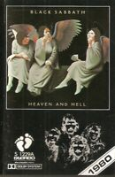 Black Sabbath .. Heaven And Hell.. cassette. Import