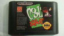 Cool Spot  Sega Genesis 1993 Video Game Virgin 7up Soda