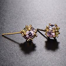Femme Fashion Jewelry Boucles d'oreilles clous en or 18K rempli boule magique lot fine coréen