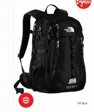 New The North Face Surge II 2 Transit Backpack TSA Laptop Approved Black