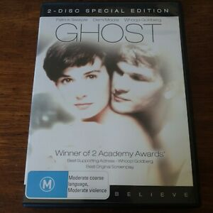Ghost 2-Disc Special Edition DVD R4 Like New! FREE POST