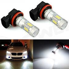 2x H11 H8 Super White 6000K 21SMD Auto LED Bulbs For Car Truck  Fog Lights Lamp
