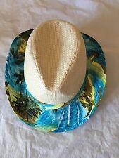 Men Women Straw Summer Beach Fedora Cowboy Hat