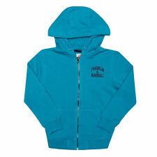 Infant Boys Franklin And Marshall Badge Logo Zip Hoody In Blue- Zip Fastening-