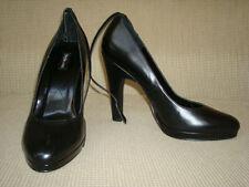 Pumps, Classics Leather Medium (B, M) 10 Heels for Women