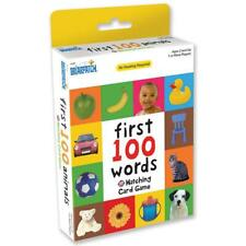 Words Gift High Quality First 100 Matching Card Game for Ages 2 and up