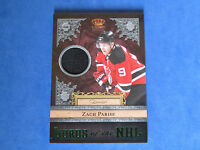 2011 PANINI CROWN ROYALE Lords of the NHL Memorabilia Prime Card ~ ZACH PARISE