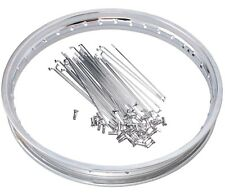 Speichenrad Tuning 1,6x16 Rad Stahl Felge Speichen Passt für Simson S51 S70 S60