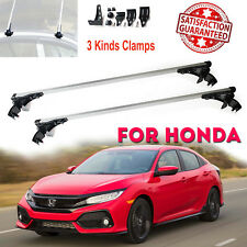 Aluminum Roof Rack Cargo Car Top Luggage Cross Bars For Honda Accord Civic 06-17