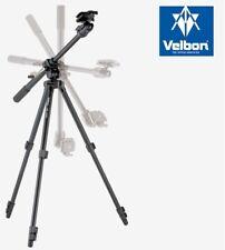 Velbon VS-443D Aluminum Tripod with QHD-53D Ball Head Geared Tilt Column