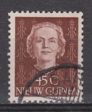 Indonesia Nederlands Nieuw New Guinea 15 used 1950 Juliana