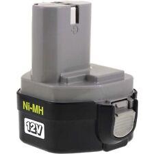 Akku für Makita Bohrschrauber 6271D Original 12V 2500mAh/30Wh NiMH Schwarz