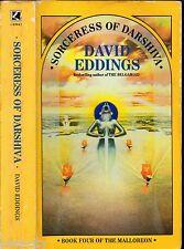 DAVID EDDINGS - SORCERESS OF DARSHIVA Book Four Of The Malloreon 1990 PB