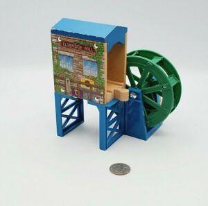 Thomas & Friends Wooden Railway Train Elsbridge Mill Water Wheel Elevated Bridge