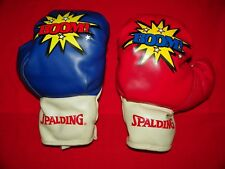 """1 Pair of Youth Spalding """"BOOM"""" Boxing Gloves, 6oz."""