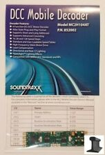 SoundTraxx ~ New 2019 ~ DCC Motor Decoder ~ MC2H104AT ~ Atlas & Others ~ 852002