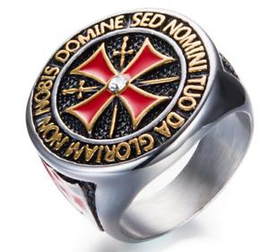 Templer  Ring  Edelstahl