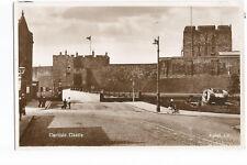 Postcard Carlise Castle Real Photo Tank Gate Guardian UP  (A12)