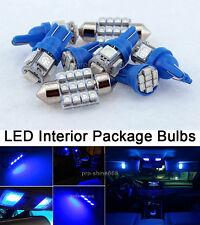 Blue Interior LED 8PCS Lights Combo for Ford F 250 F 350 F 450 2005 Present