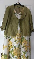 Venta-Alex & Co vestido ropa de seda que empareja y Chaqueta Talla 16 impresionantes Outfit
